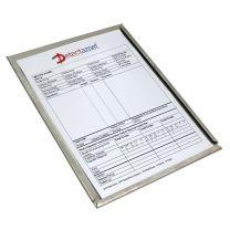 Stainless Steel & Aluminium Recipe Card Holder