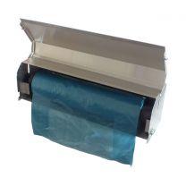 Stainless Steel Tote Bin Cover Dispenser