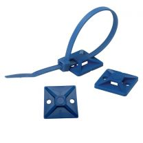 Detectable Cable Tie Mounts (Pack of 10)