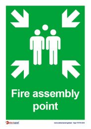 'Fire Assembly Point' Sign
