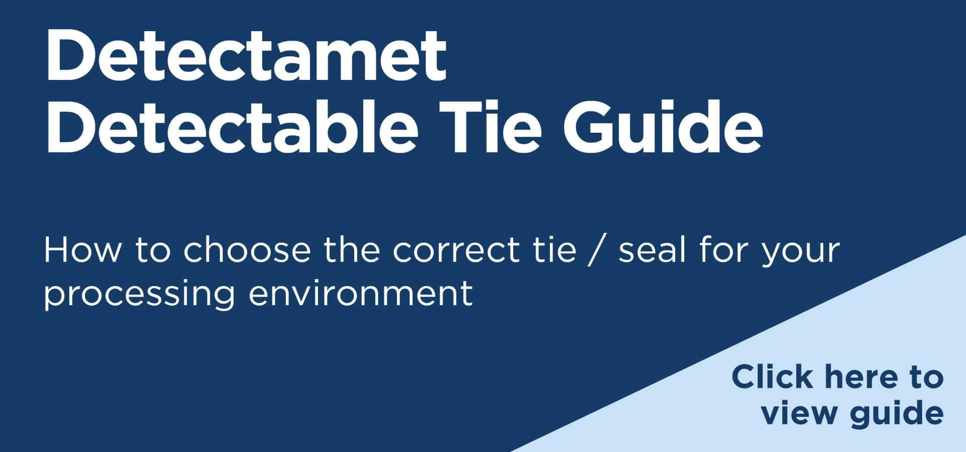 Detectamet Detectable Ties, Tags & Labels Guide